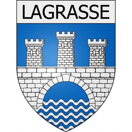 lagrasse-11-ville-stickers-blason-autocollant-adhésif